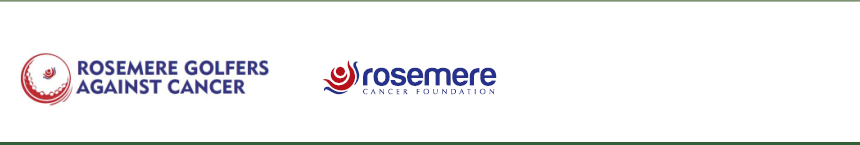 Rosemere Golfers Against Cancer Logo